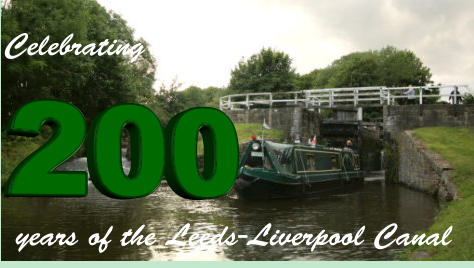 Celebrating years of the Leeds-Liverpool Canal 200